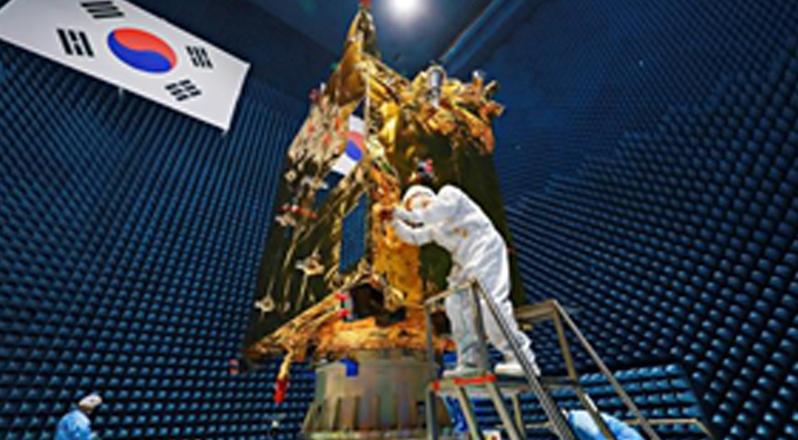세계최초 정지궤도 미세먼지·적조 관측 천리안위성 2B호, 드디어 실물 공개
